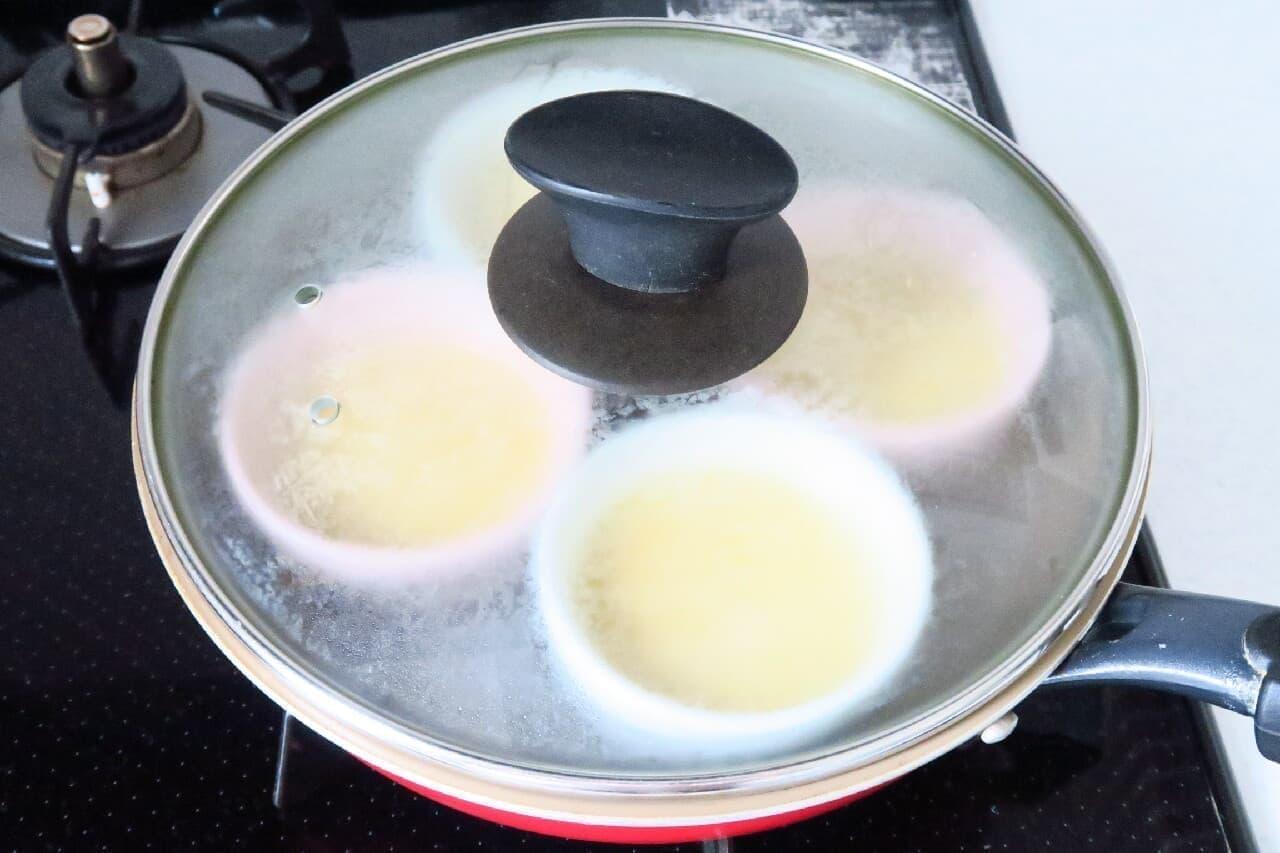 さつまいもプリンのレシピ -- フライパンで簡単&濃厚スイートポテト風