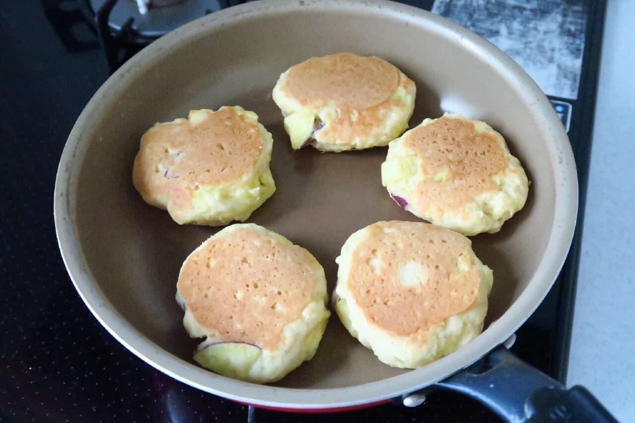 さつまいもスコーンのレシピ -- ホットケーキミックス&フライパンで簡単に