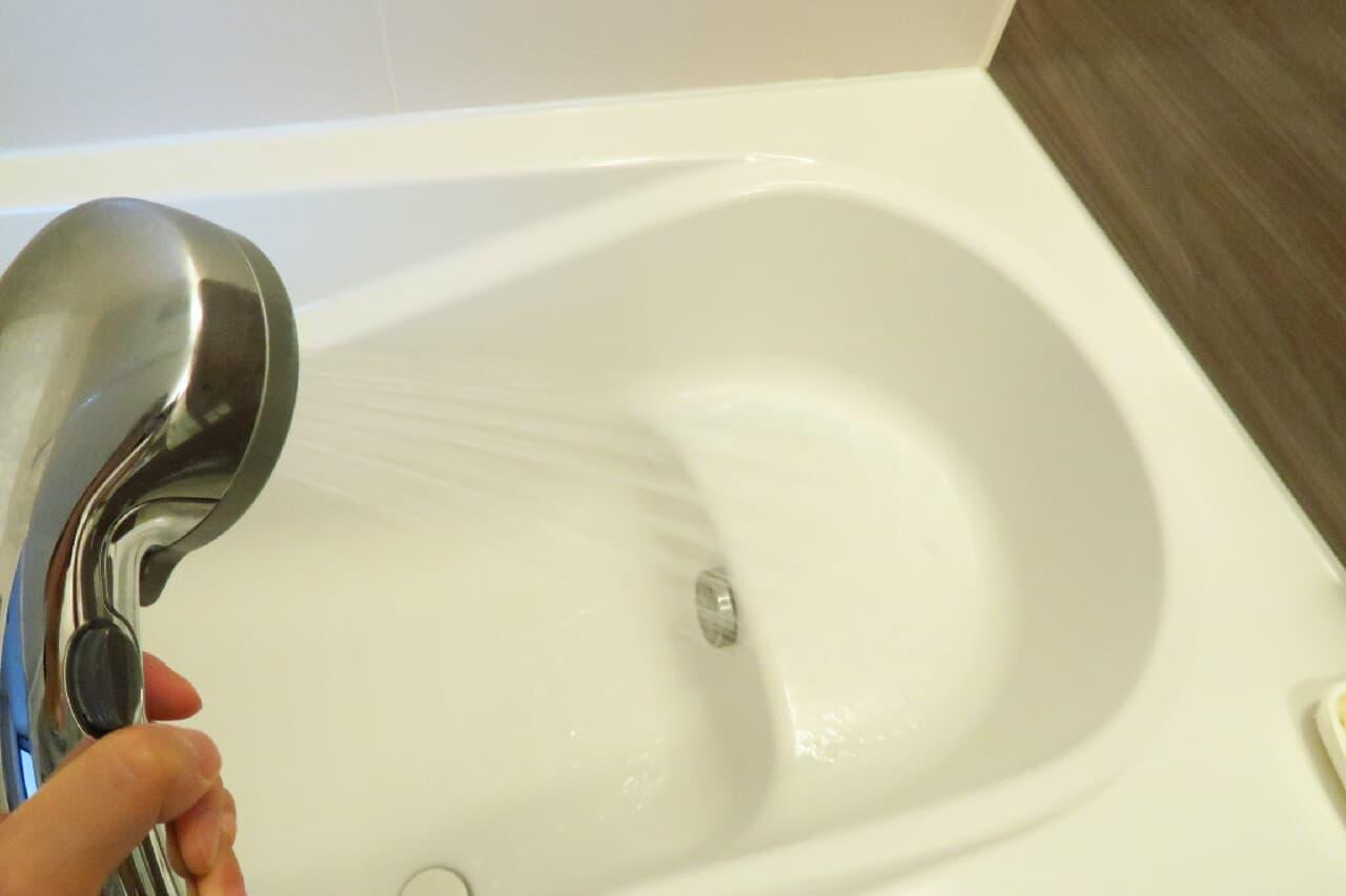 「バスマジックリン エアジェット」レビュー -- 新スプレー容器で浴槽掃除ラクに