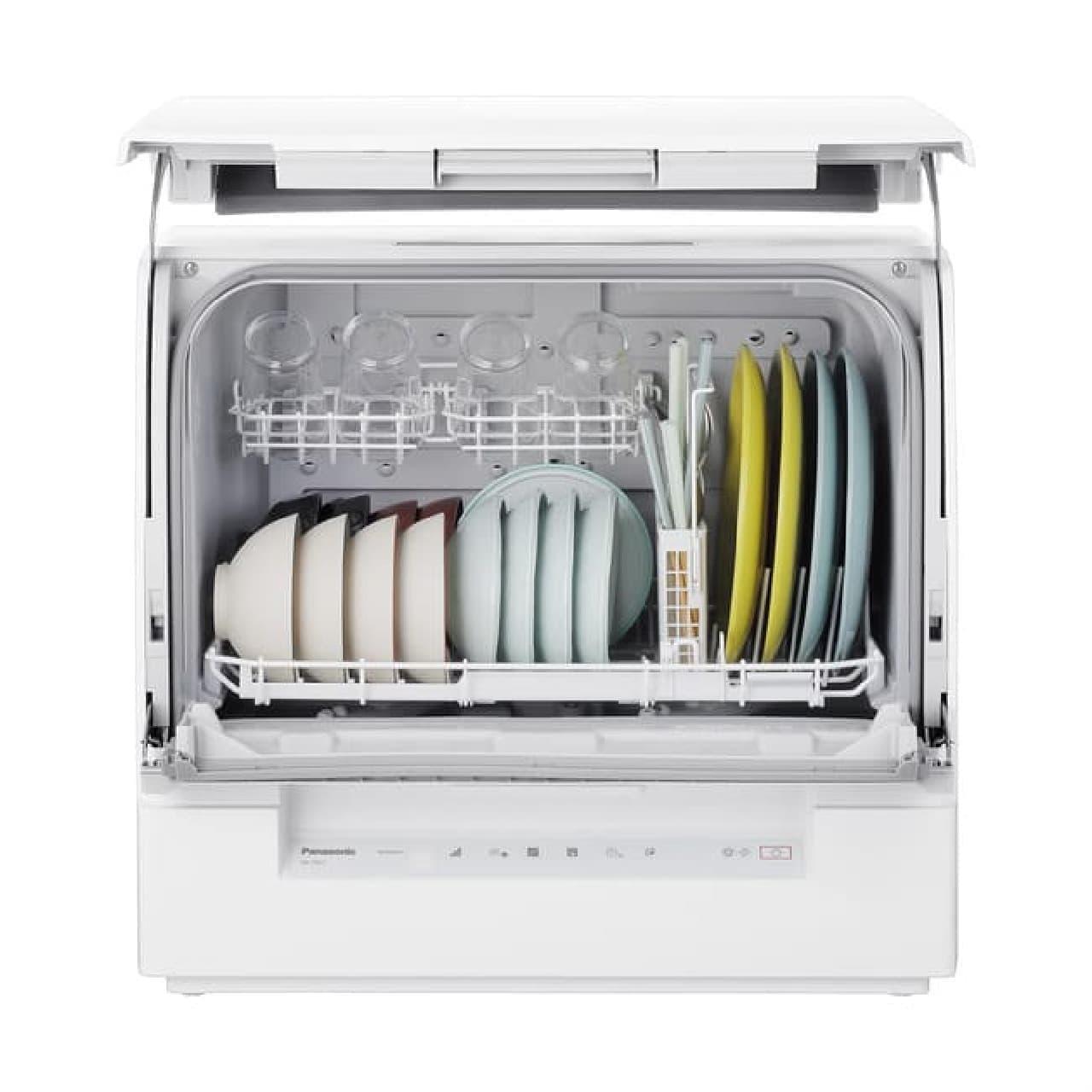 パナソニック「スリム食洗機」NP-TSK1 -- 奥行約29cmで省スペース・4人分食器洗いも