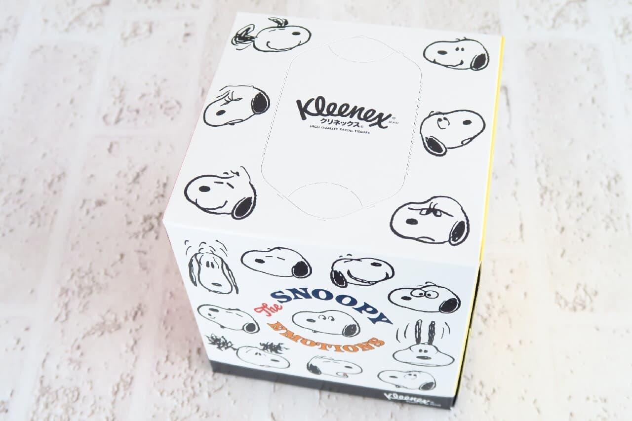 「クリネックス ティシュー」スヌーピーデザインが可愛い!「スコッティ ウェットティシュー」も