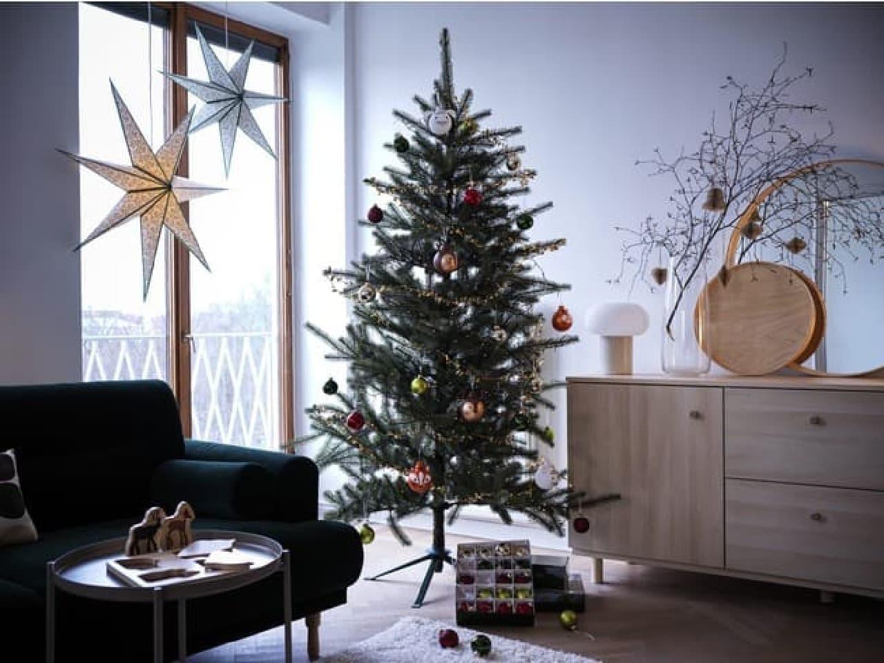 イケア クリスマスコレクション発表 -- 自然で穏やかな森イメージのオーナメント・テーブルウェアなど