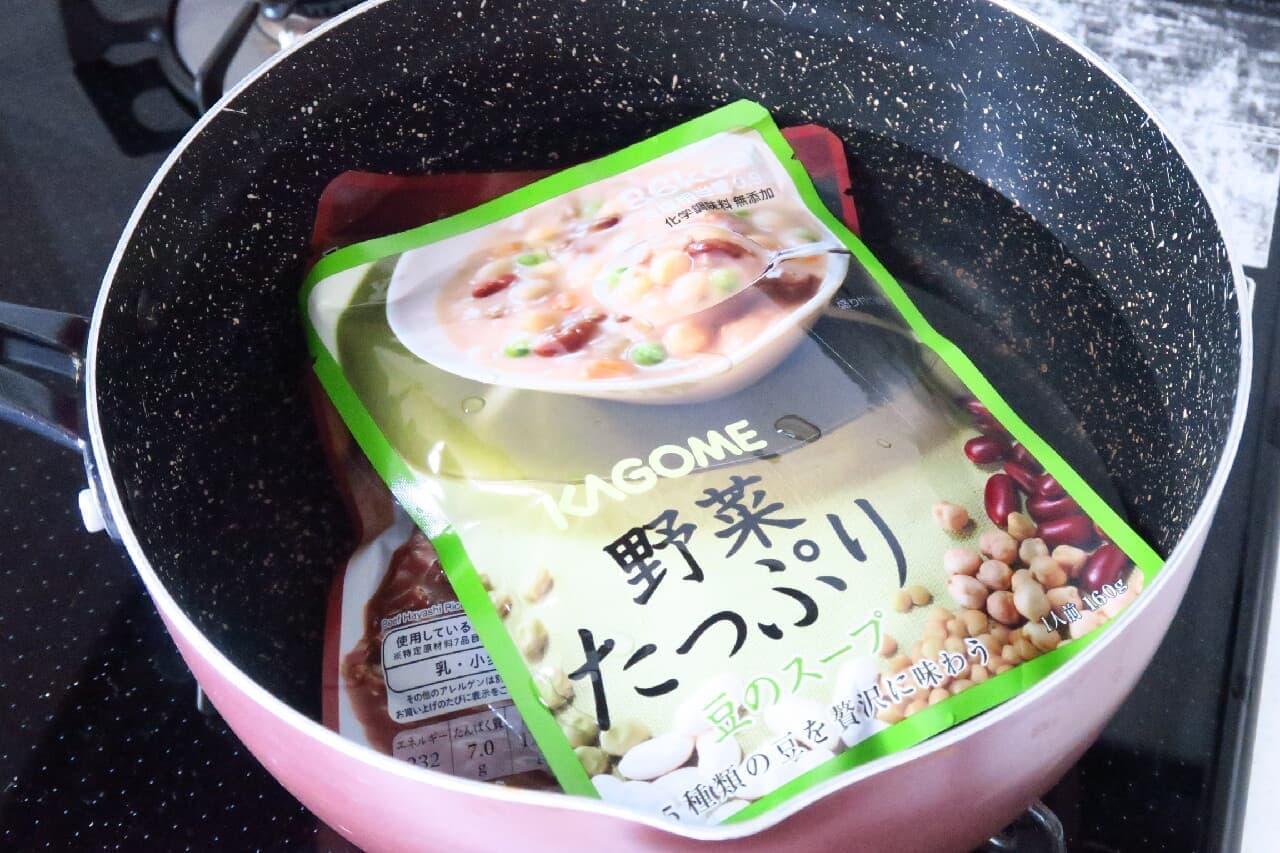 ポリ袋でご飯を炊く方法 -- 災害時やキャンプに!野菜ジュースでも