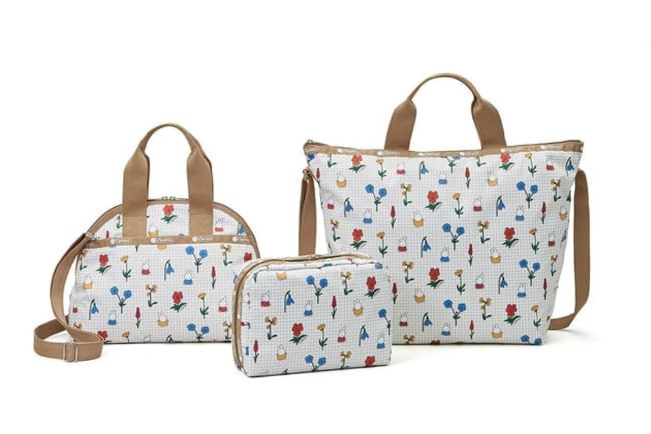 レスポートサック×ディック・ブルーナのコラボ -- ミッフィーやブラック・ベアをデザインしたバッグ類