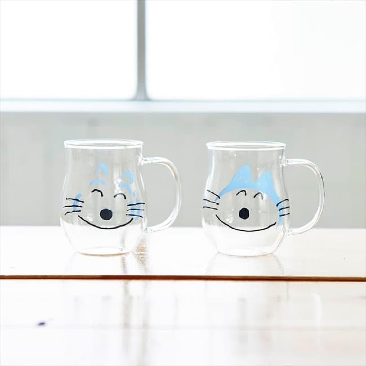 11ぴきのねこ耐熱グラスがヴィレヴァンに -- レトロなフォルム&電子レンジ対応