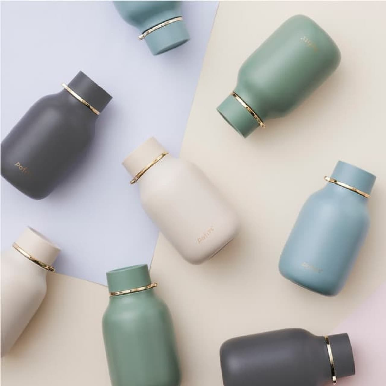 「pofits+(ポフィッツ)マグボトル」ドウシシャから -- バッグに入れやすい&コロンと可愛い320ml