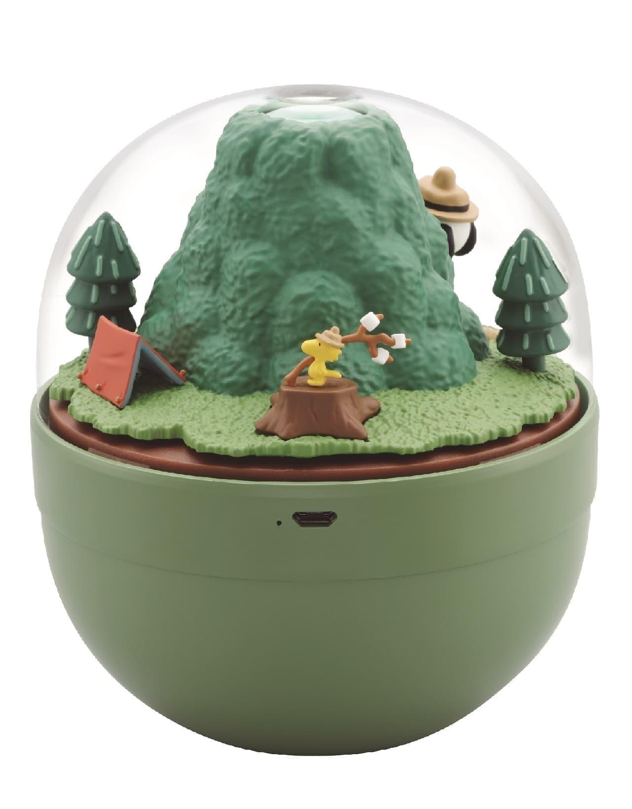 「スヌーピー ビーグル・スカウト加湿器」発売 -- 焼きマシュマロを楽しむ可愛いフィギュア