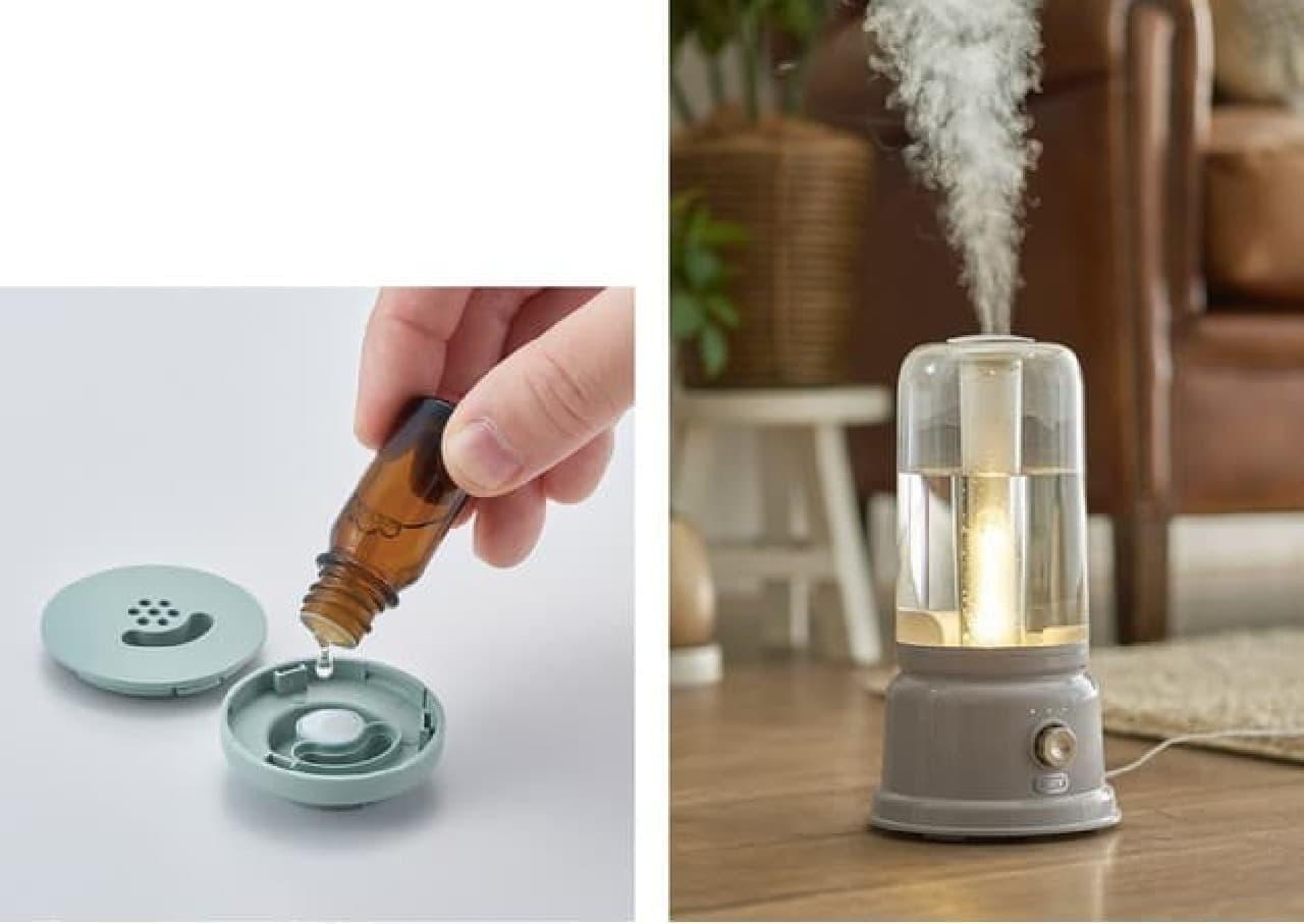 「Toffy LEDランタン加湿器〈充電式〉」「Toffy アロマランプ加湿器」発売 -- おしゃれなインテリア風加湿器