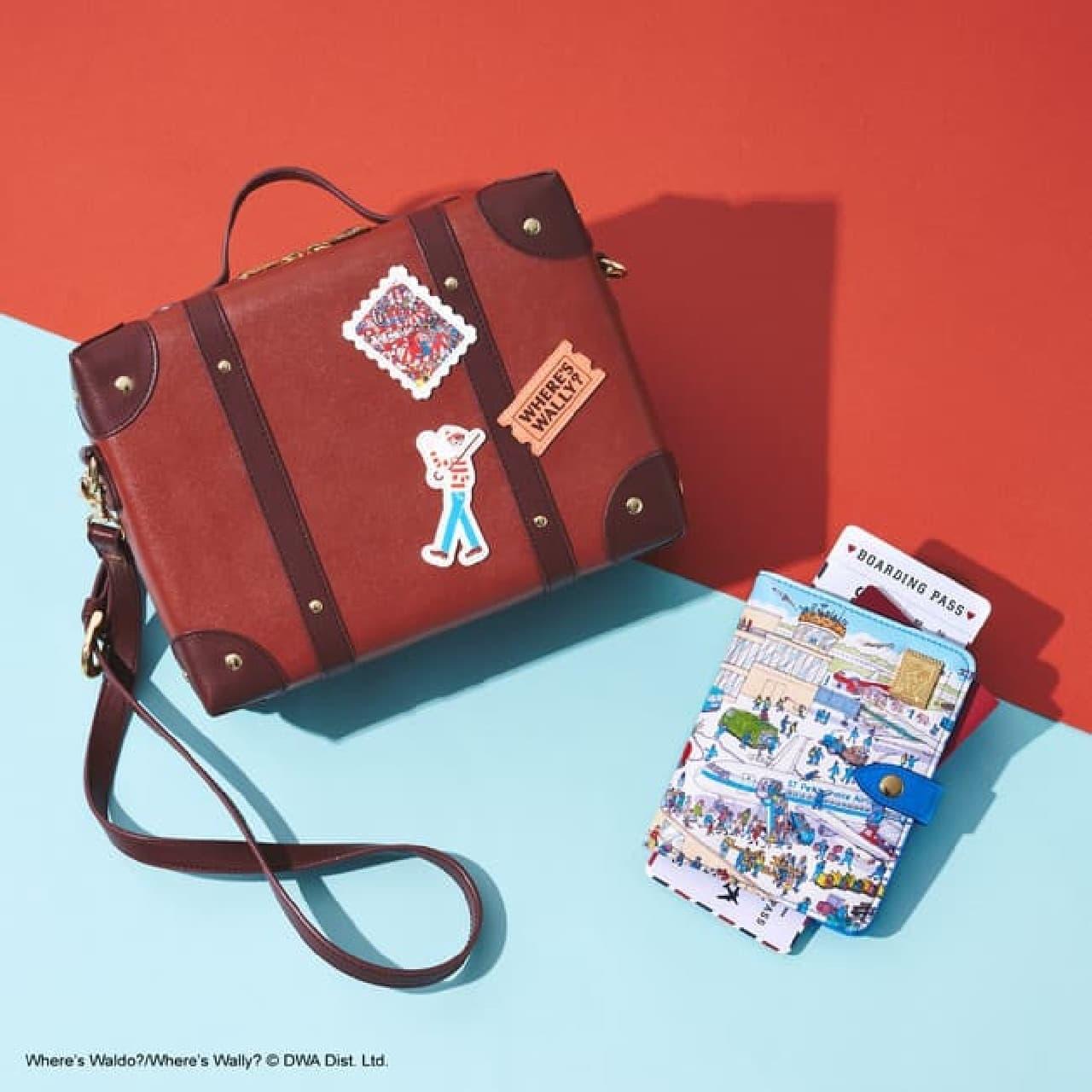 サマンサタバサプチチョイス「ウォーリーをさがせ!」コレクション -- 旅をイメージした財布・ポーチ・ショルダーバッグなど