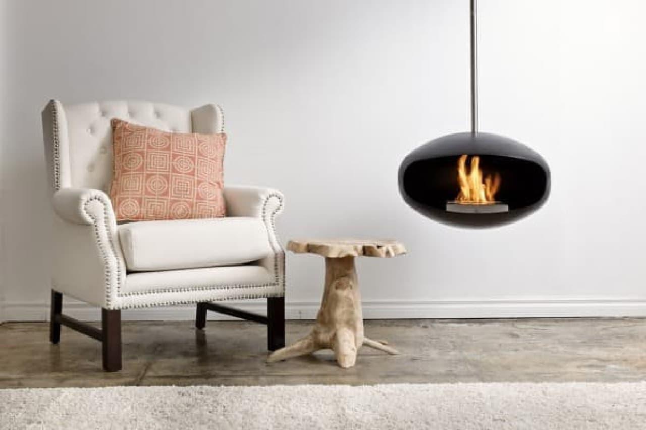"""""""暖炉のある生活""""を実現する「Cocoon Fireplaces」"""