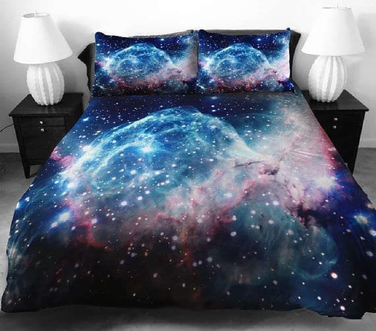 青い銀河寝具セット