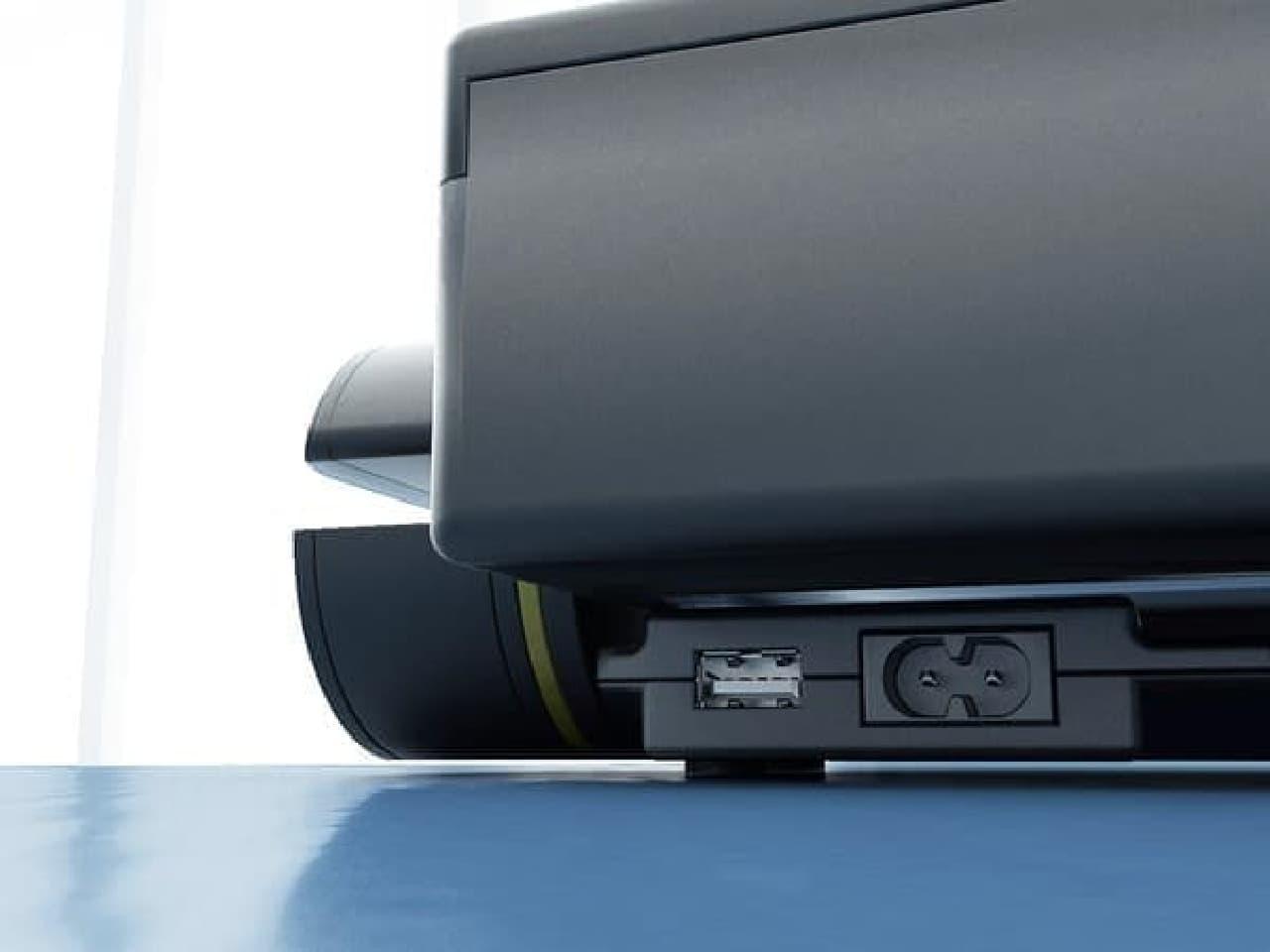 RFID チップに埋め込まれた加熱情報は  USB 経由で PC に伝えられ