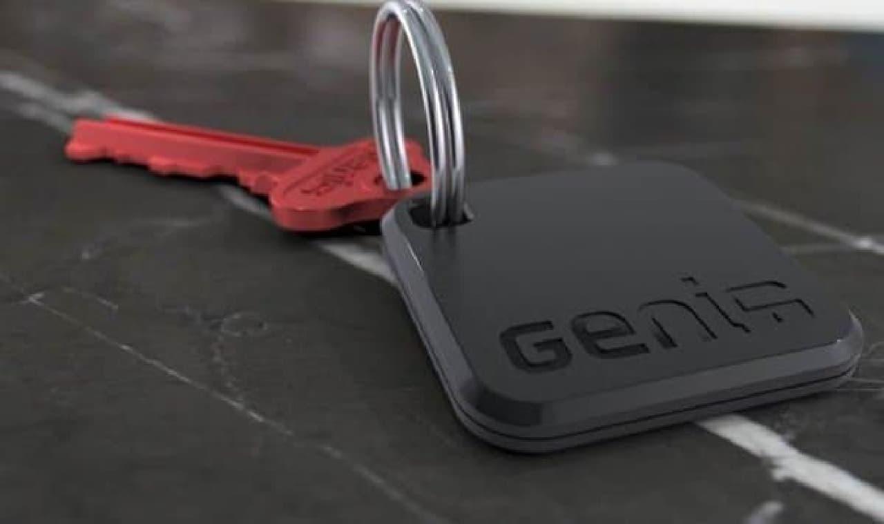 従来型のカギと Bluetooth FOB  FOB があれば、スマートフォンが無くても解錠できる