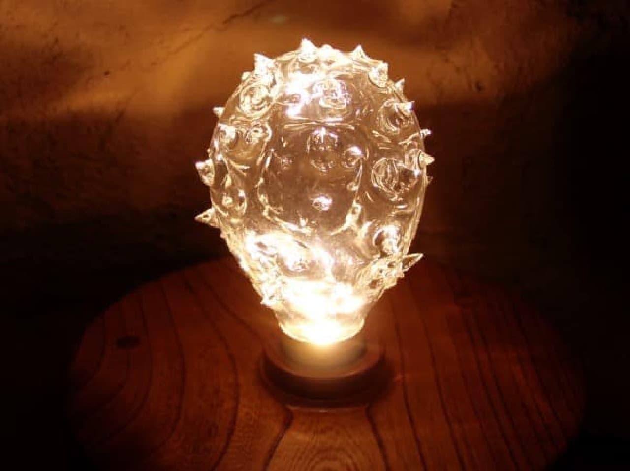 「美影」の LED 電球「ドラゴンフルーツ」