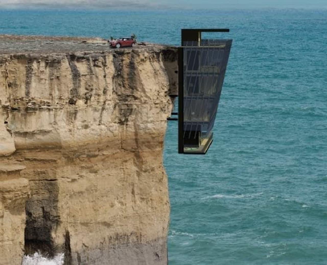 オーストラリアメルボルン近郊に建築予定の「Cliff House」