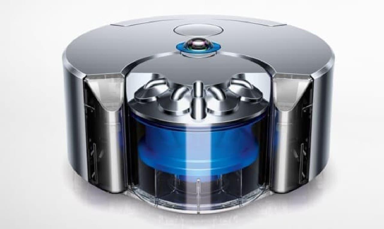 ダイソンのロボット掃除機「ダイソン 360 Eye」
