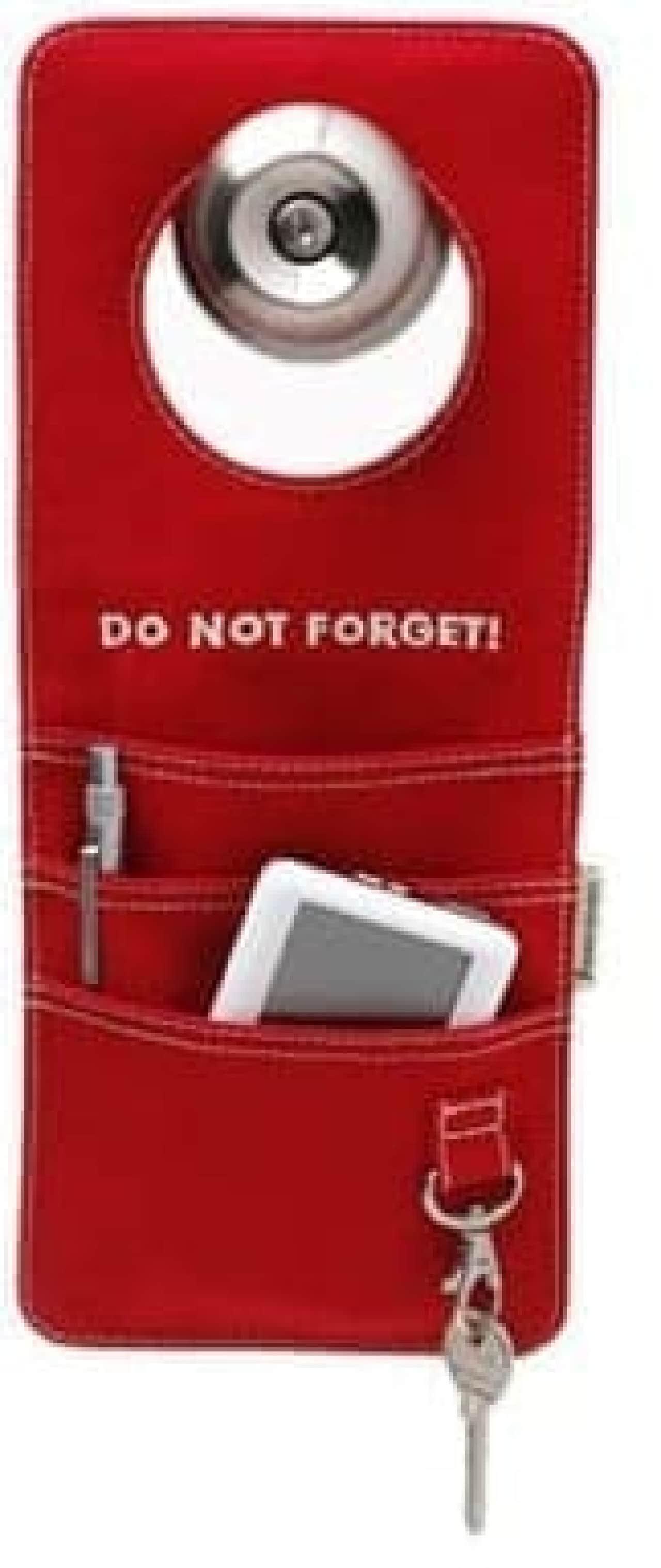 出掛けるときの持ち物を忘れない「Doorganizer」