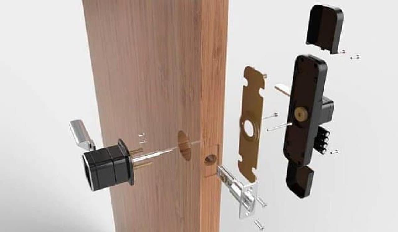 Bluetooth eKey の取り付け方法