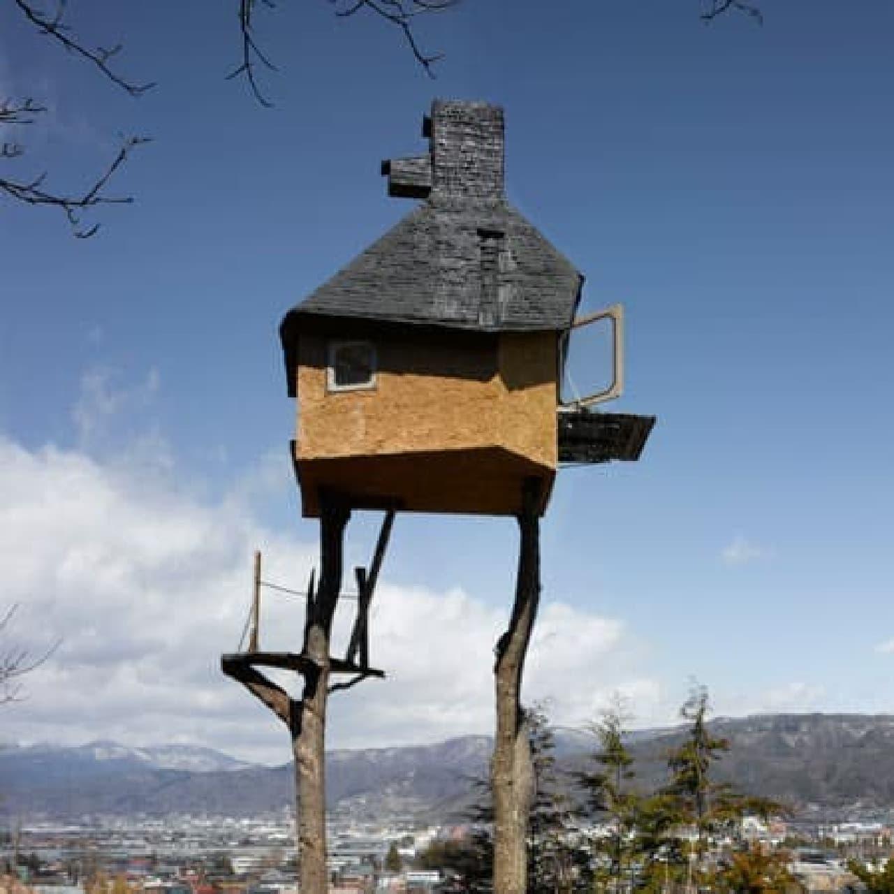 世界一危険な茶室「高過庵」  鬼太郎が住んでそう?