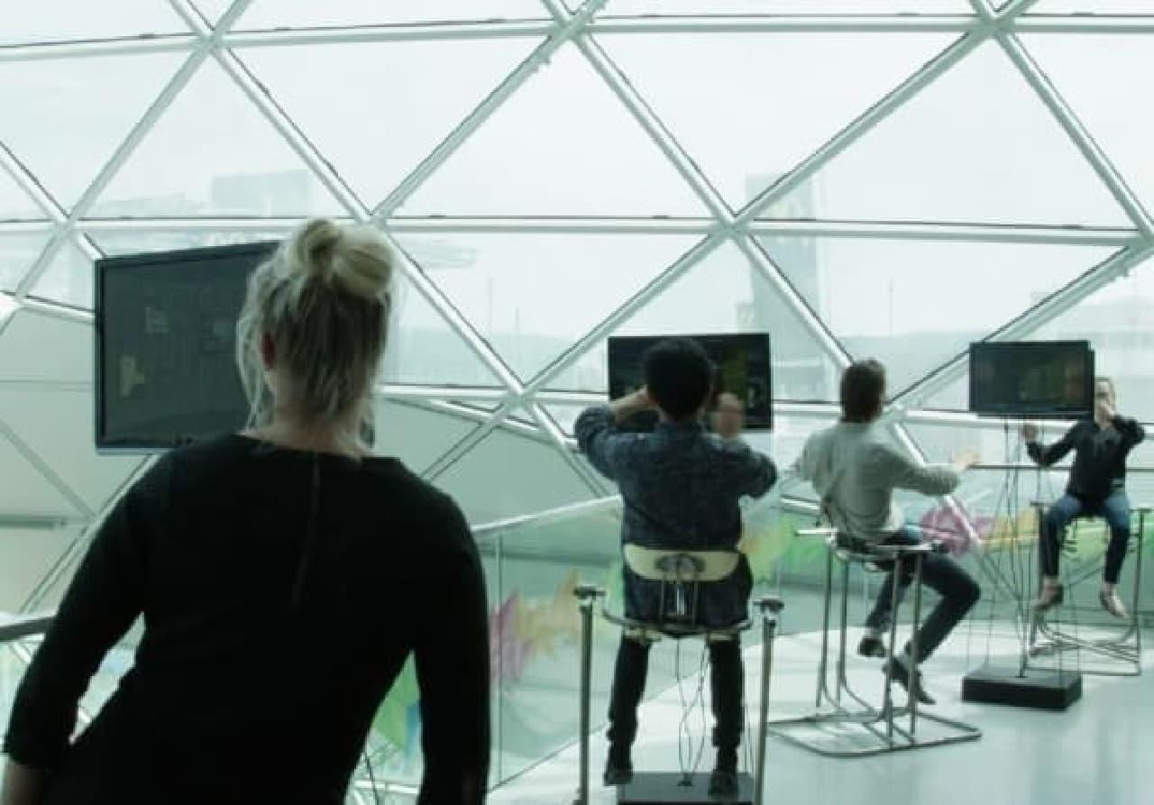 Govert Flint 氏の想像する未来のオフィス  (画像出典:Ziggy Pictures)
