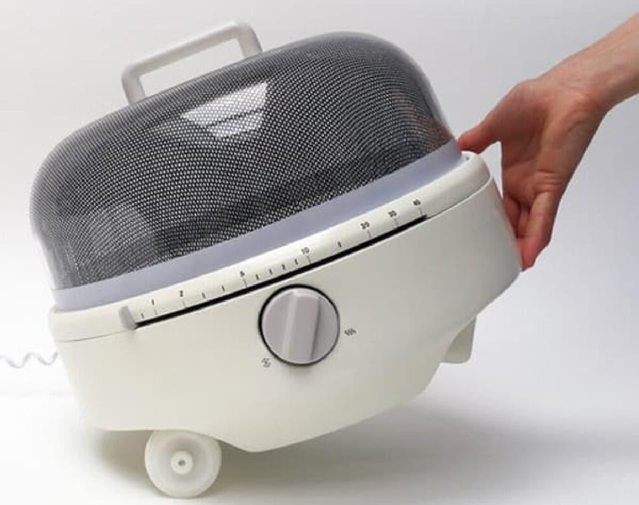 「Mediumwave」は車輪付き 簡単に持ち運びできます
