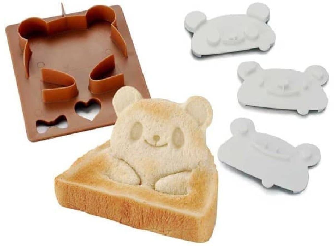 「パン DE ポップ!アップ!」は、  「パンカッター」(画像左)と、「スタンプ」(画像右)のセット