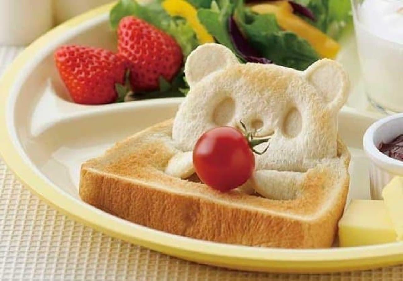 食パンで可愛い「3D パンダトースト」が作れる「パン DE ポップ!アップ!」
