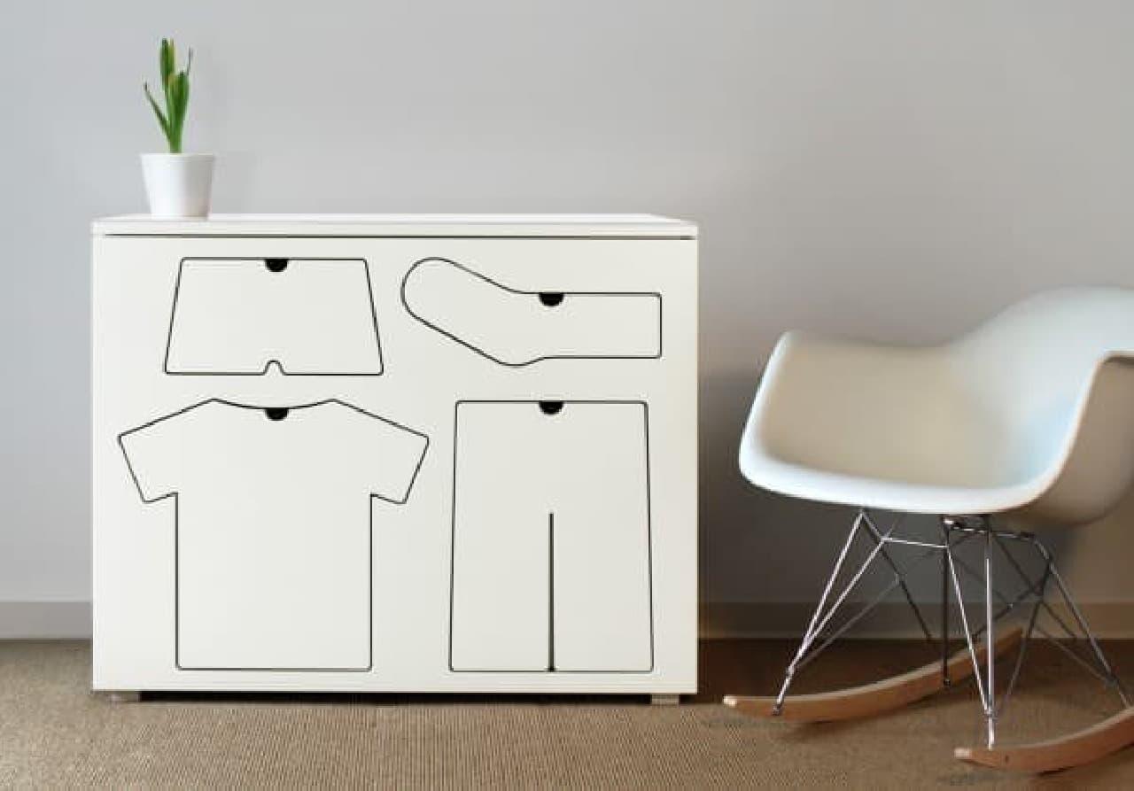 子ども用ドレッサー「Training Dresser」