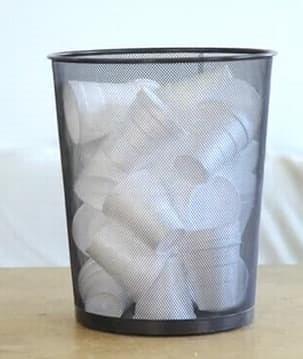 コーヒー愛好者は平均で年間500個の紙カップを廃棄している?