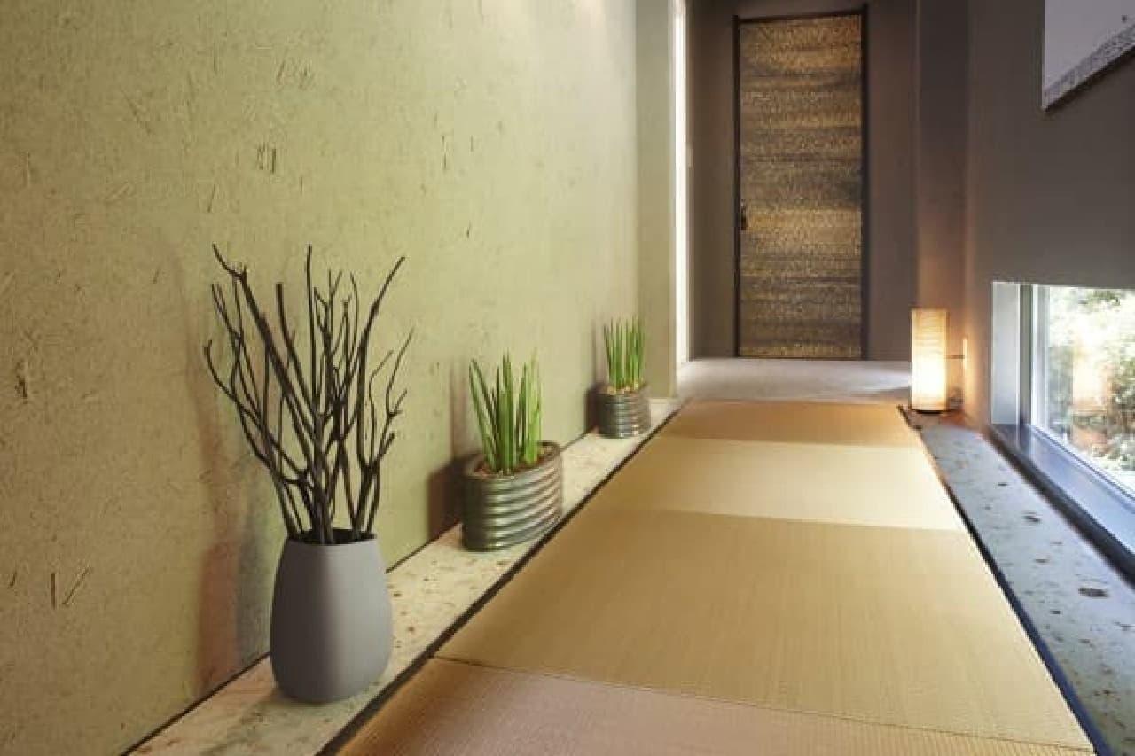 洗練されたデザインは和室にもなじむ