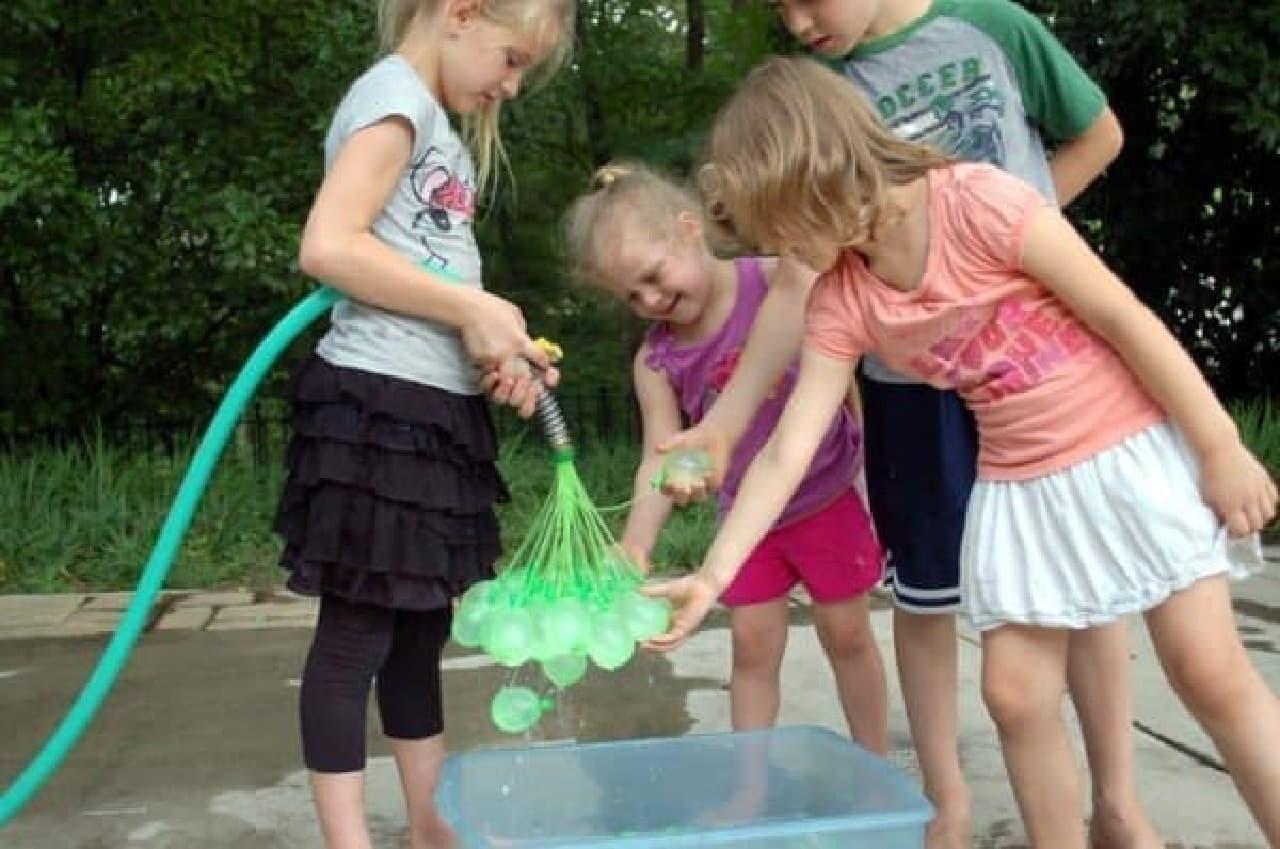 夏の水遊びに革命!「Bunch O Balloons」