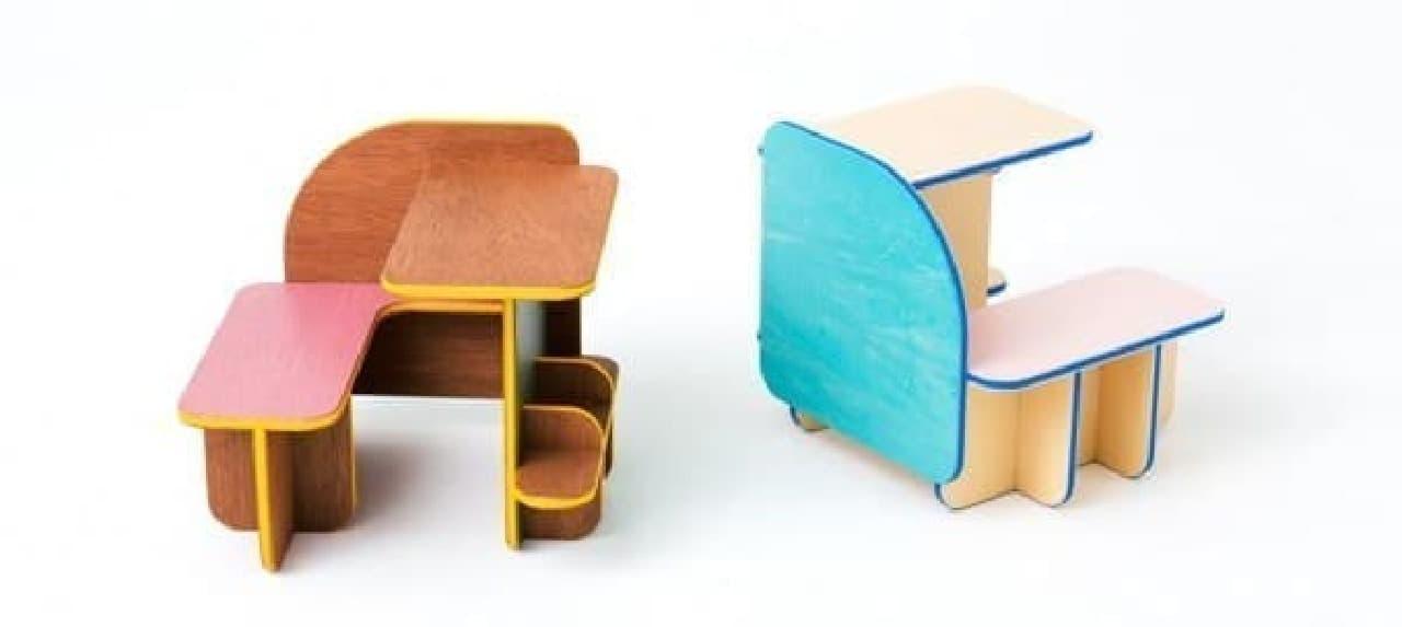 子どもっぽくなり過ぎないデザインも魅力