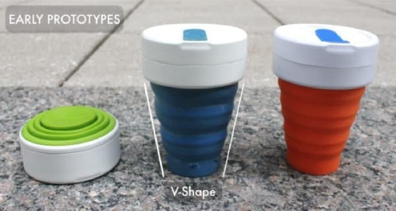 「SMASH CUP」の初期のプロトタイプ