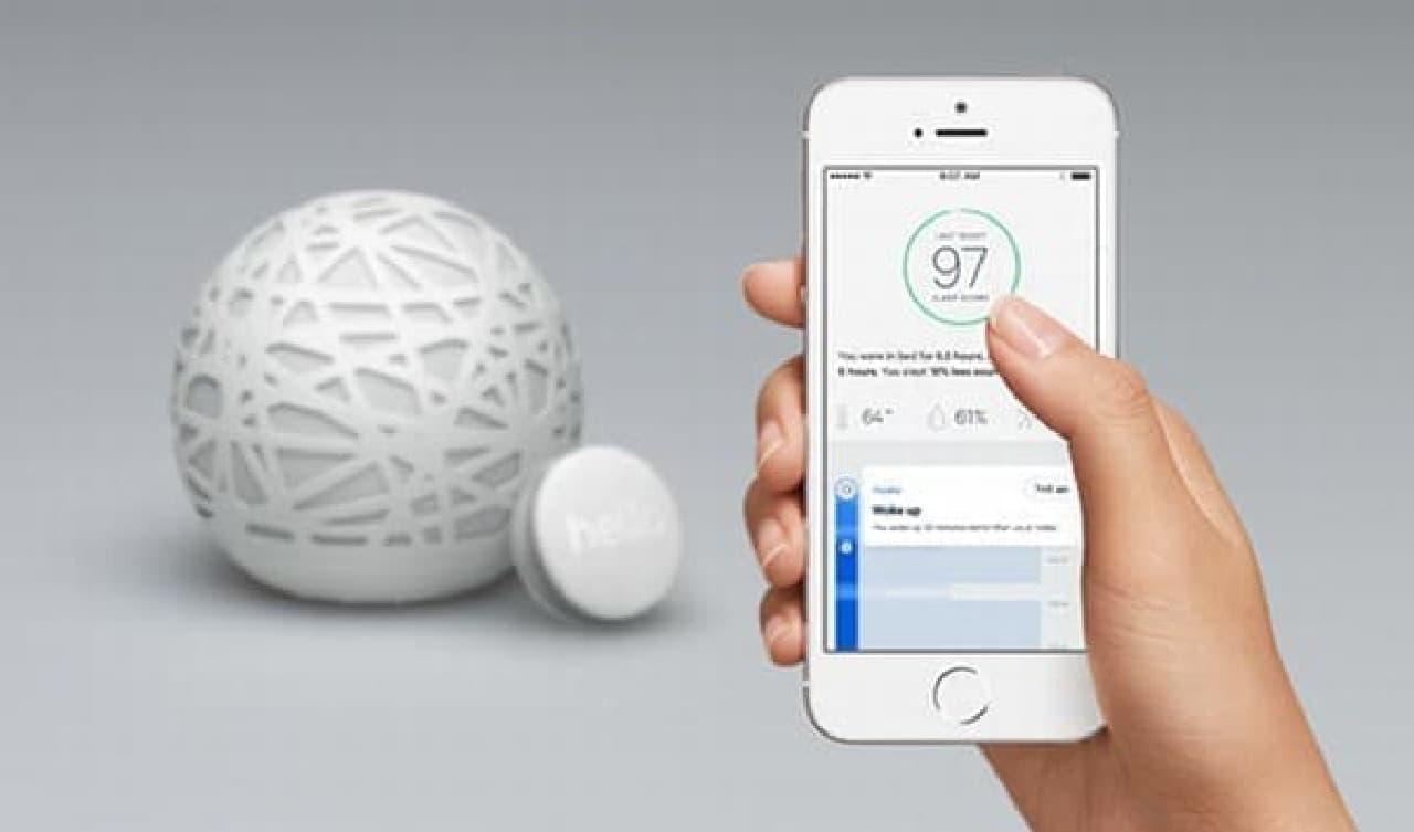 「Sense」は、本体、Sleep Pill、そしてスマートフォンアプリで構成される