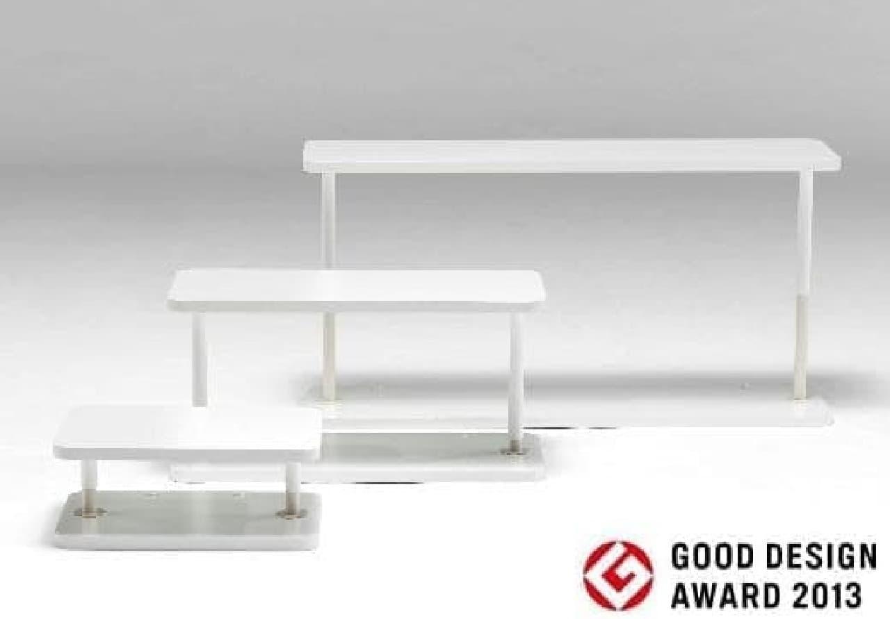 家具の幅に合わせて選べる「耐震アトラスネオ」