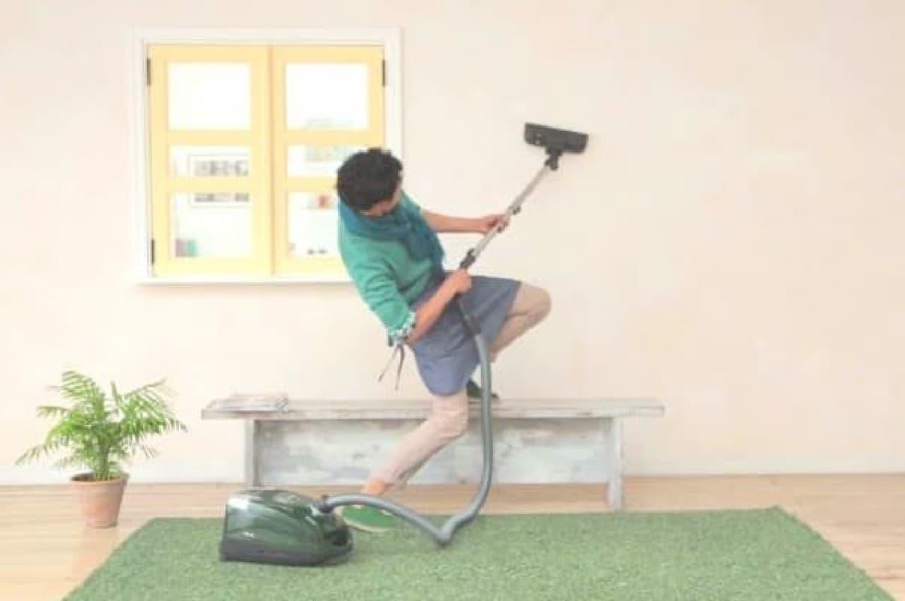 掃除がものすごく楽しくなっちゃう!?  (出典:ミーレ・ジャパン公式 YouTube)