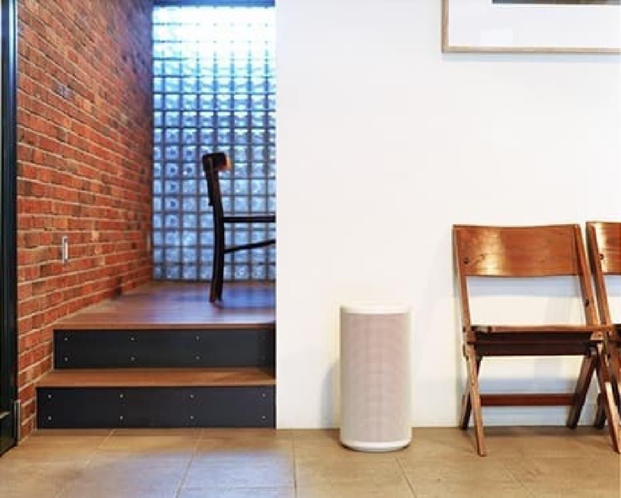 どんな空間にもなじむシンプルなデザイン