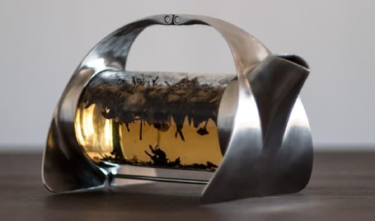 茶葉の動きをゆったりと楽しめます