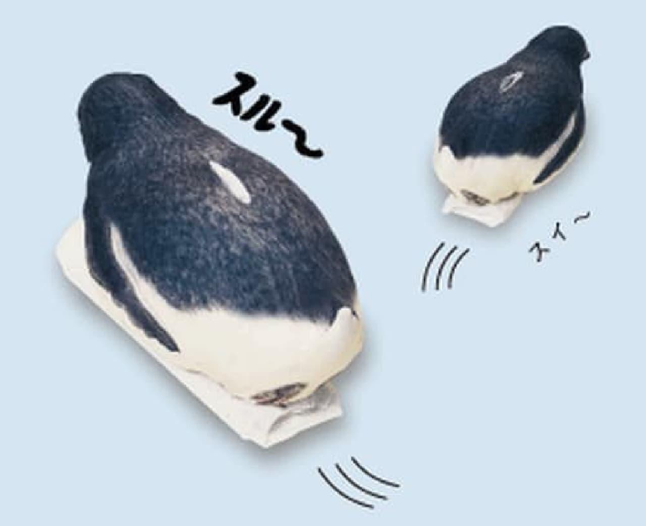 (注:画像はイメージです。ペンギンさんは自分では動けません)