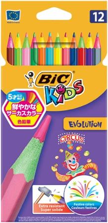 サーカス色鉛筆 12色